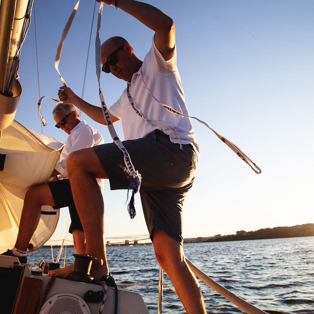 Sailing in Simcoe Muskoka